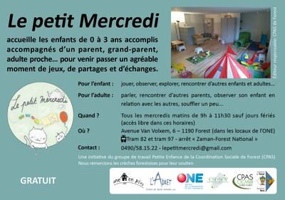 Flyer Petit Mercredi