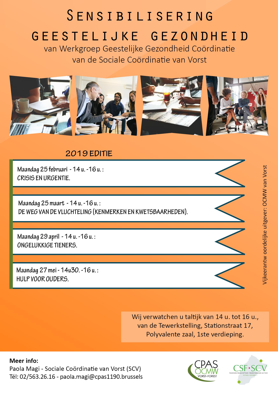 Sensibilisation Santé Mentale NL 2019