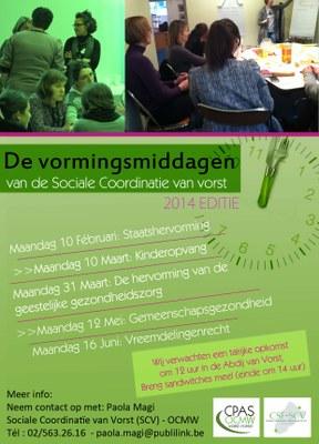 Vormingsmiddagen 2014 (1e semester)